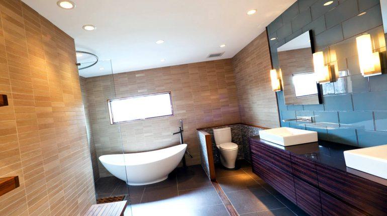 Создание дизайна маленькой ванной