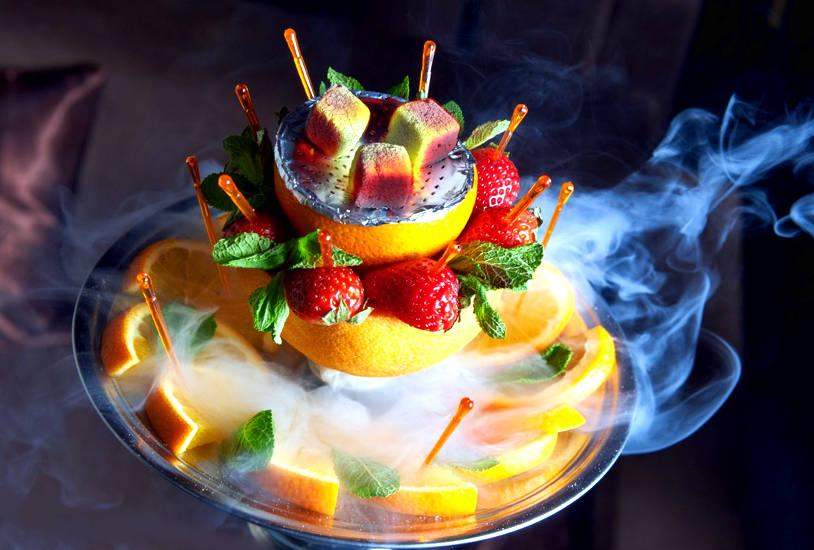 Как сделать кальян на фруктах?